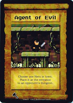 KSA013 Agent of Evil