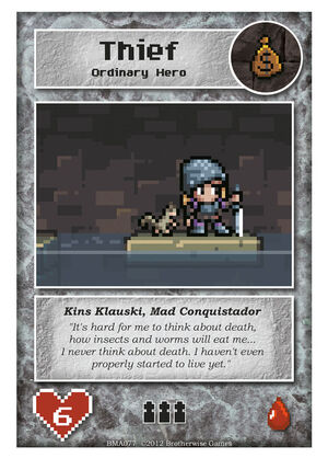BMA077 Kins Klauski, Mad Conquistador