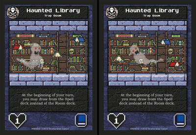 BMA023 Haunted Library AA