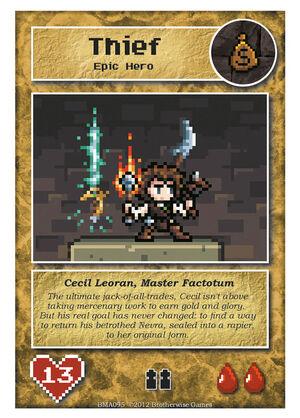 BMA095 Cecil Leoran, Master Factotum