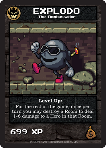 Explodo | Boss Monster the Dungeon-Building Card Game Wiki ...