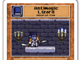 Antimagic Lizard