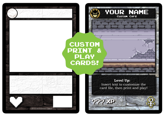 image custom cards png boss monster the dungeon building card