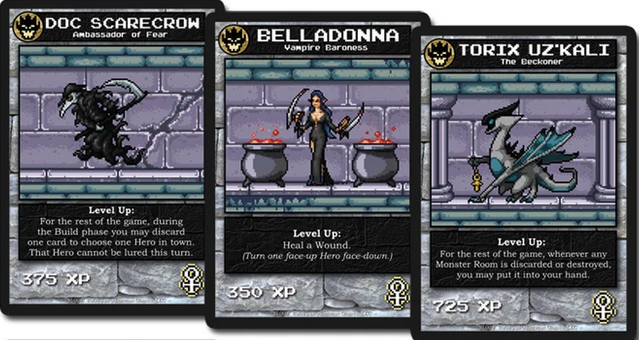 Doc Scarecrow Boss Monster The DungeonBuilding Card Game Wiki - Doc games