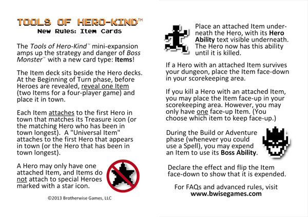 Tools of Hero-Kind Rules