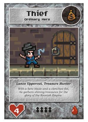 BMA075 Lance Uppercut, Treasure Hunter