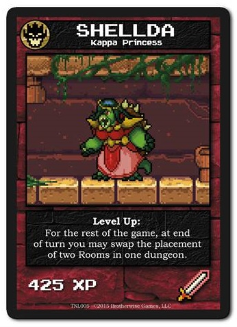 shellda boss monster the dungeon building card game wiki fandom powered by wikia. Black Bedroom Furniture Sets. Home Design Ideas