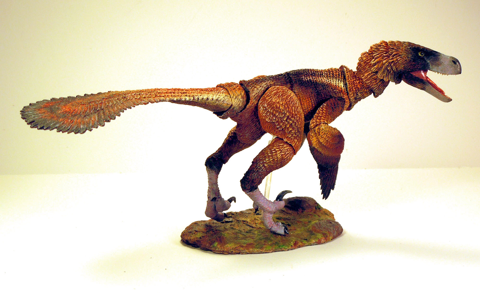 """Set A Velociraptor /""""Build-A-Raptor/"""" Kit by Beasts of the Mesozoic"""