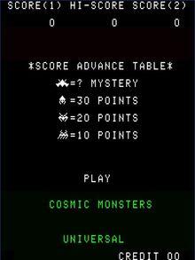 Cosmicmonsters