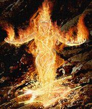 2 fire elemental