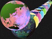 Summer Glass Globe FarEast PSD by taketo