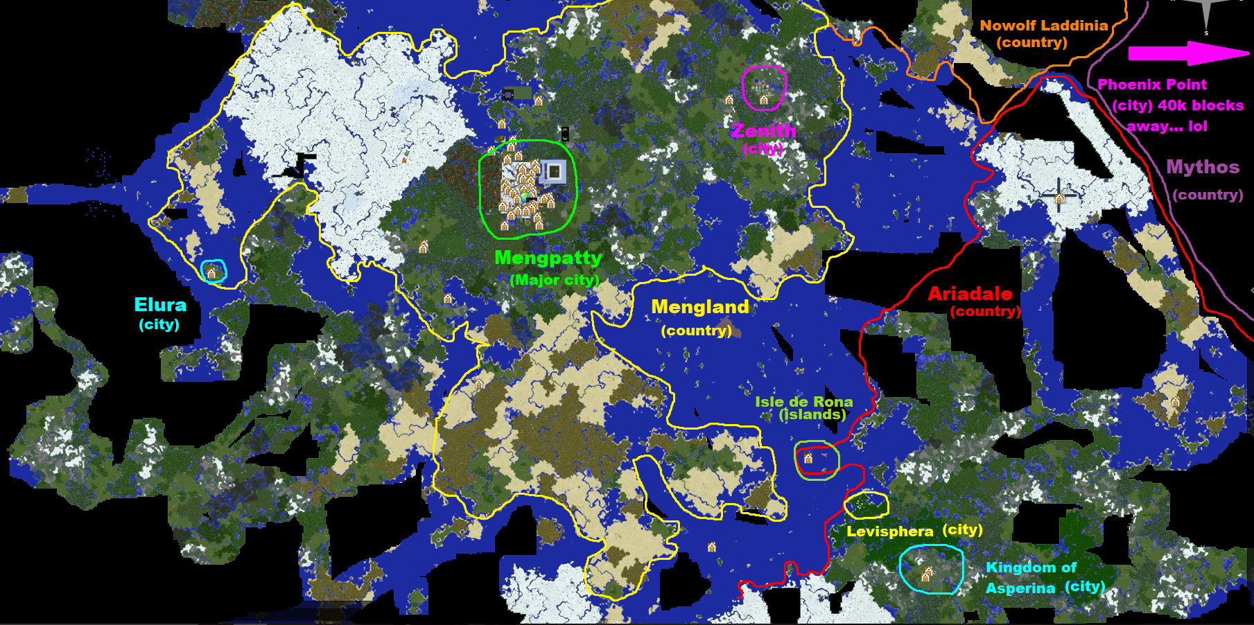 Regions of the world map bowlingotter show minecraft server wiki retrieved from httpbowlingotter show minecraft serverawikiregionsoftheworldmapoldid522 gumiabroncs Images