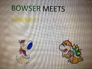 Bowser Meets Sparky