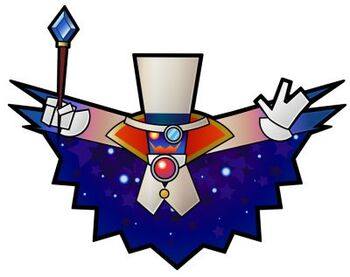 Count Bleck with cape open