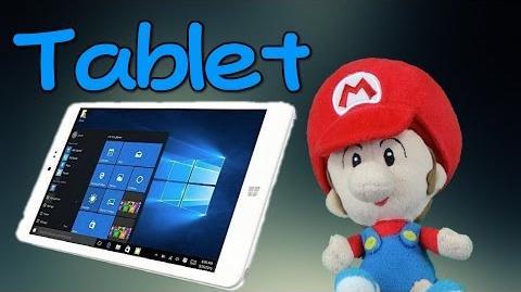 Baby Mario's Tablet