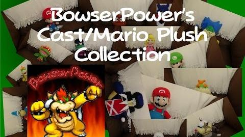 BowserPower's Cast Mario Plush Collection