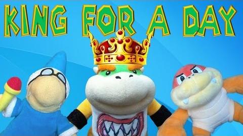 Bowser Jr King for a Day