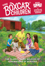 The Boxcar Children new cover