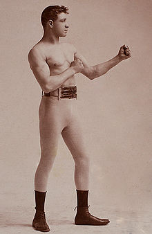 Joe Choynski by Genelli, c1893