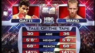 Arturo Gatti vs. Micky Ward