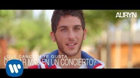 """Auryn -- """"Este soy yo"""" Álvaro"""