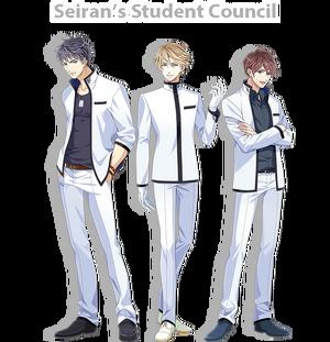 Seiran student council unit