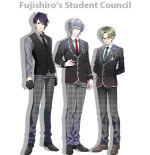 Fujishiro student council unit