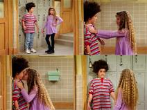 Cory's Alt Friends kiss