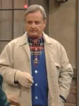Mr. Feeny by the fence