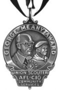 George Meany Award medal
