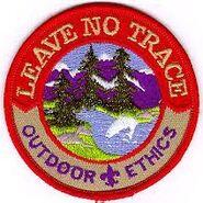 Leave No Trace Achievement Scout