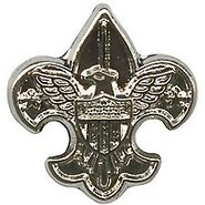 National Outdoor Badge Silver Device
