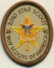 2010 Star scout Patch