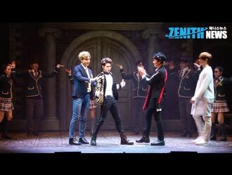 Boys Over Flowers The Musical press call 1 (Zenith News)