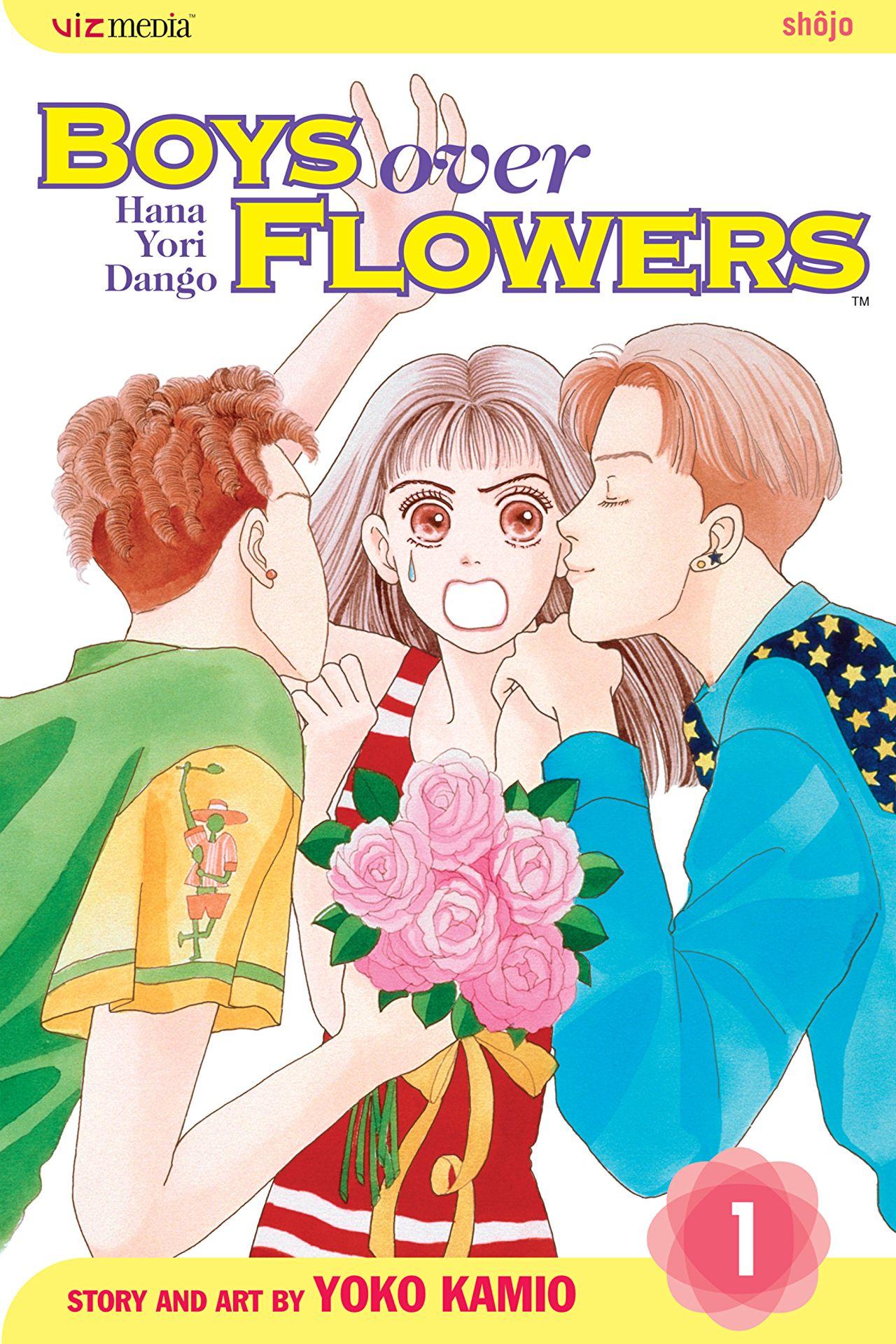 Afbeeldingsresultaat voor boys over flowers manga