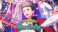 THE SHOW MUST GO ON Banner