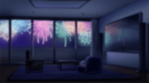 Thrive apartment (fireworks)
