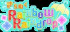 Glittering Rainbow Raindrop