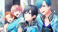 Glittering Rainbow Raindrop CG