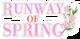 RUNWAY OF SPRING