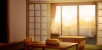 Ryokan (room) evening