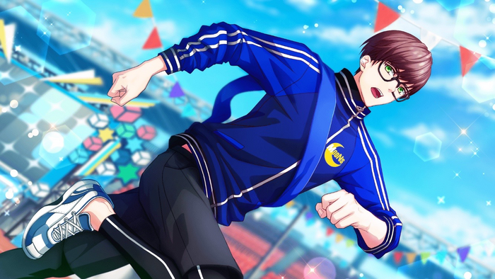 【Cheer Battle】Sekimura Mikado CG 1