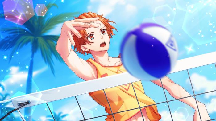 【Beach Volleyball】Fudo Akane CG 2
