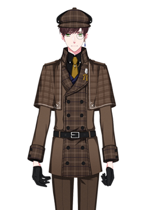 【Great Detective】Sekimura Mikado costume