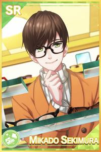 【Glasses Key Point】Sekimura Mikado 1