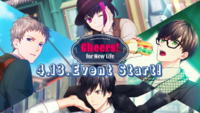 Cheers! for New Life Banner
