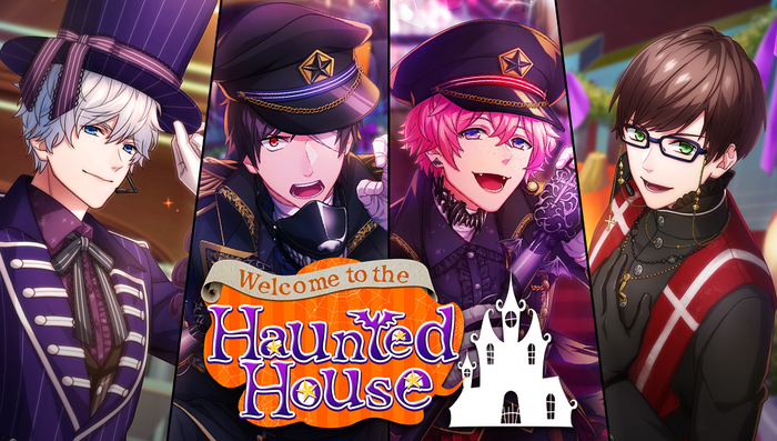 Welcome to the Haunted House Banner