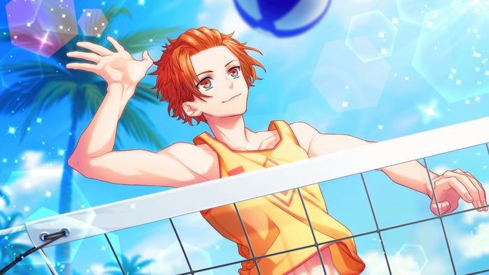 【Beach Volleyball】Fudo Akane CG 1