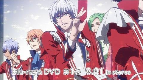 TVアニメ「B-PROJECT~鼓動*アンビシャス~」Blu-ray&DVD 第1巻発売告知CM 2016.8.31 in stores