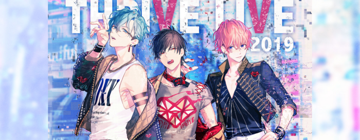 B-PROJECT THRIVE LIVE 2019 Banner